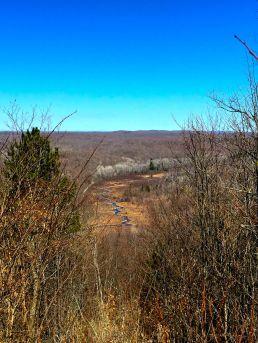 jordon river from deadmans hill