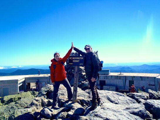 Summit Mt. Washington