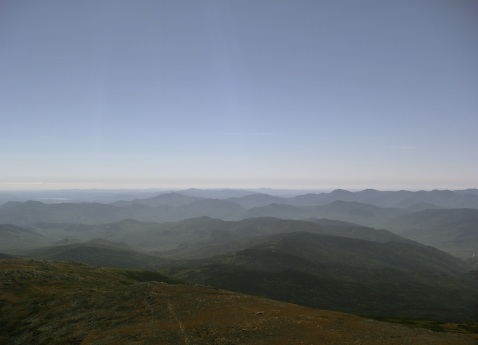 Views from the Summit Mt Washington