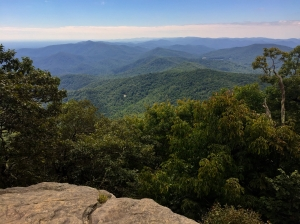 blood mountain summit view