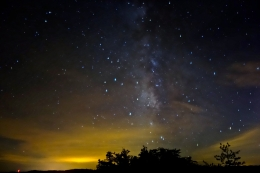 Capturing the night sky over the Red River Gorge