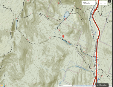 Cascade Brooke Trail Map