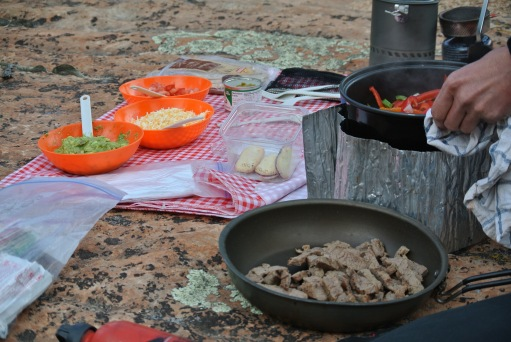 Gourmet in the Backcountry