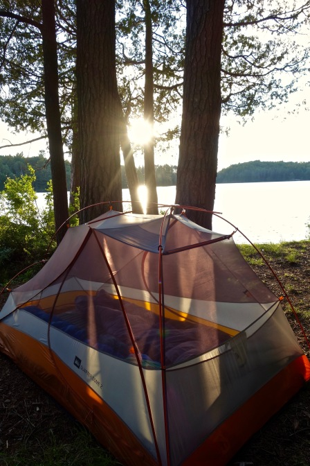 Lakeside Camping at Algonquin Provincial Park