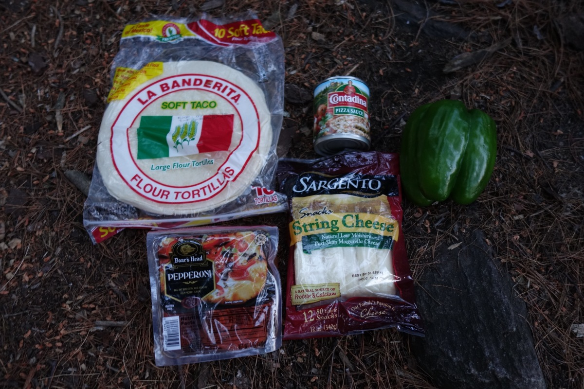 Backpacking Gourmet: Wood-fired Backcountry Pizza