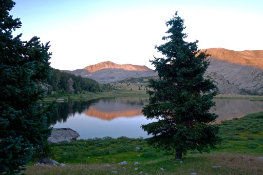 Near Timico Lakes, Wind River Range