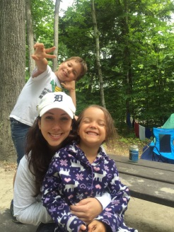 Camping with Family, Killbear Provincial Park, Ontario
