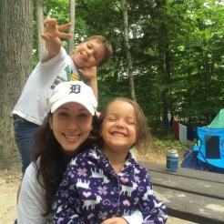 Camping with Family, Killbear Provincial Park, Ontario
