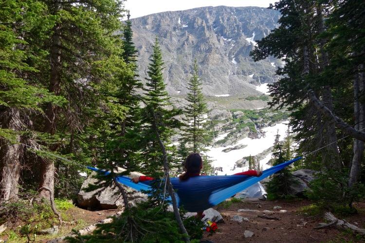 Campsite at Upper Ouzel Creek