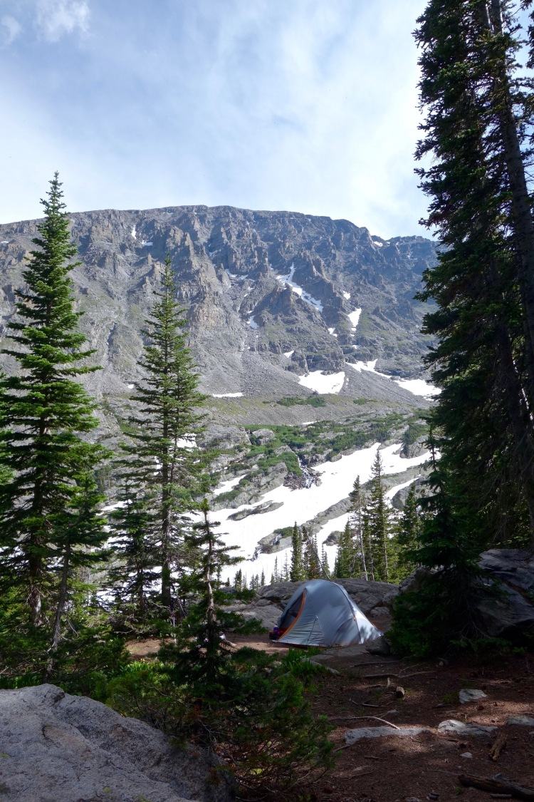 Upper Ouzel Creek Campsite