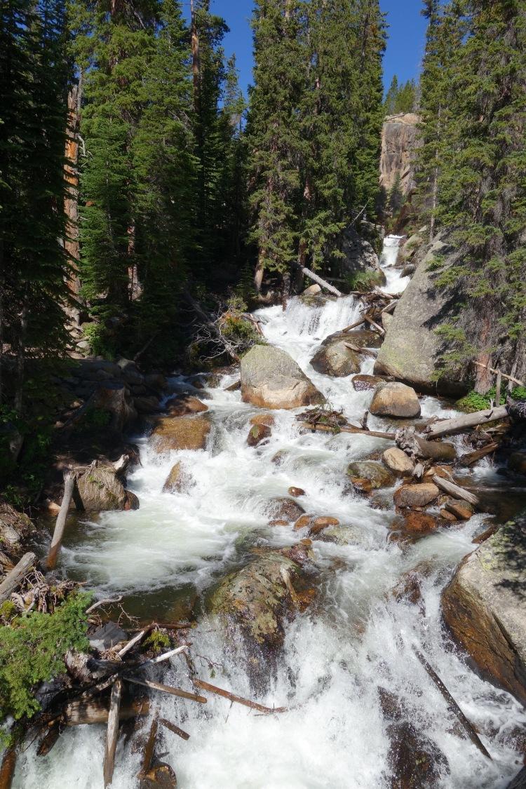 Wild Basin, Waterfalls