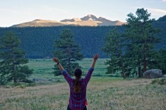 Praising the mountains and another sunny day in RMNP